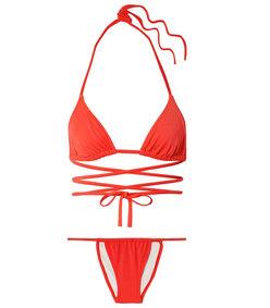 the hannah wrap bikini