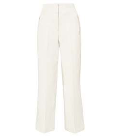 kahili satin-crepe straight-leg pant