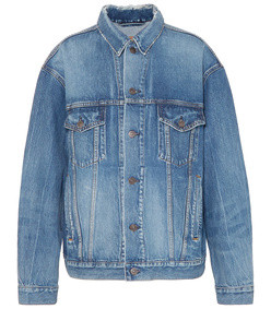 like a man oversized denim jacket