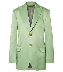 jaria oversized satin-twill blazer