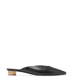 carmen leather mules