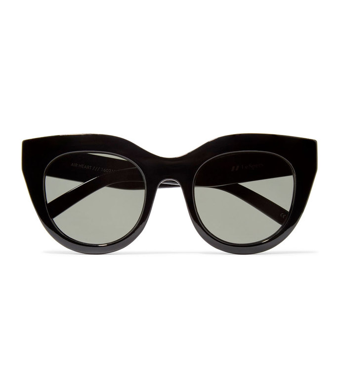 air heart cat-eye acetate sunglasses