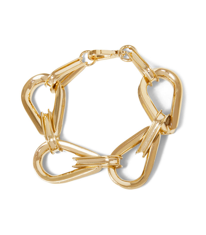 ellipse chain bracelet