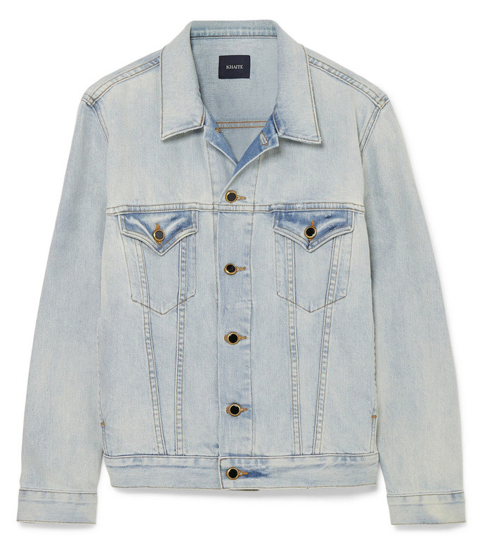 cate oversized denim jacket