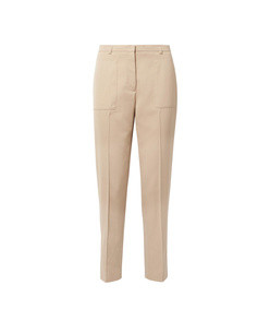 colin cotton-blend straight-leg pants