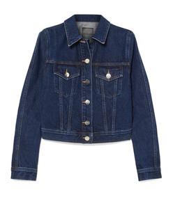 the box denim jacket