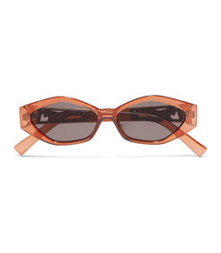 jordan askill petit panthère cat-eye acetate sunglasses