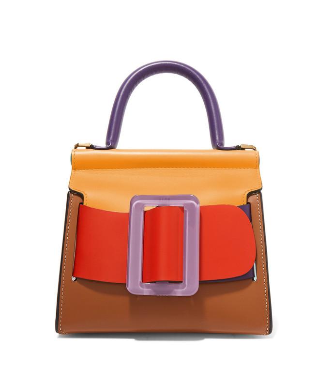 karl 19 mini leather shoulder bag