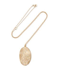 virgo 14k gold diamond necklace