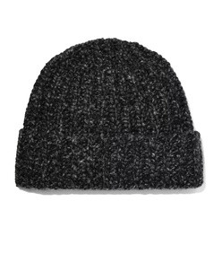 donegal ribbed cashmere beanie