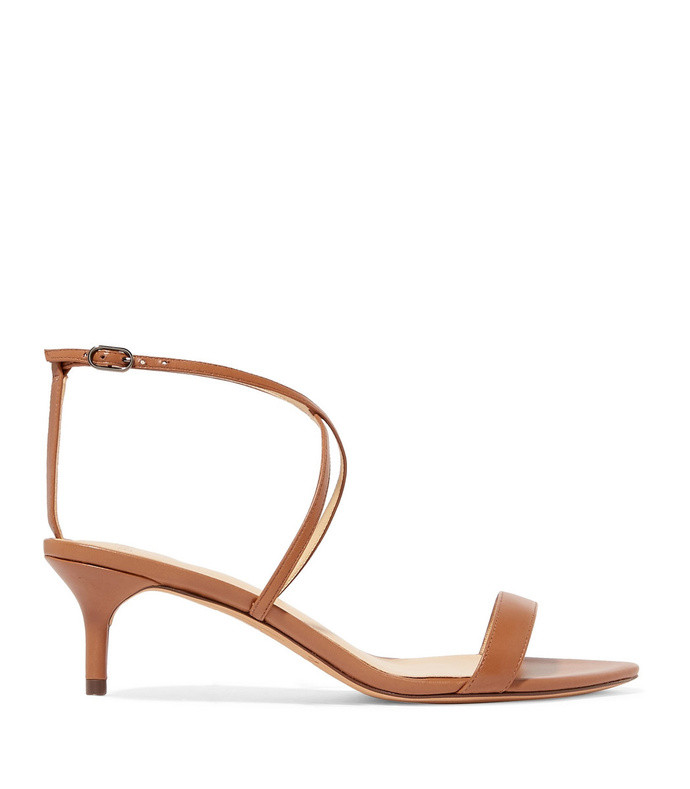 smart cocktail leather sandals