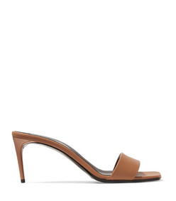 net sustain faux leather mules