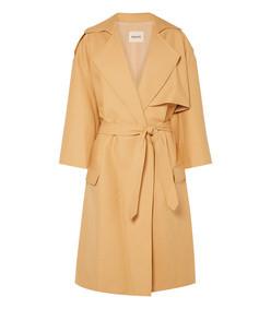 matthias belted cotton-gabardine trench coat