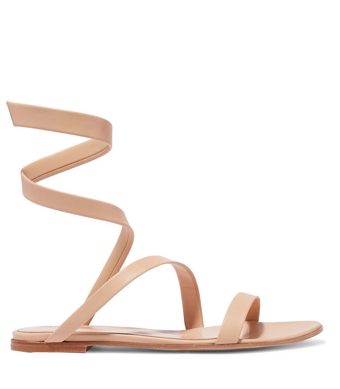 opera leather sandals