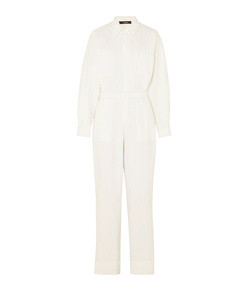 cotton-canvas jumpsuit