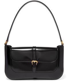 miranda patent leather shoulder bag