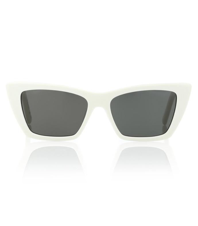 mica cat-eye sunglasses