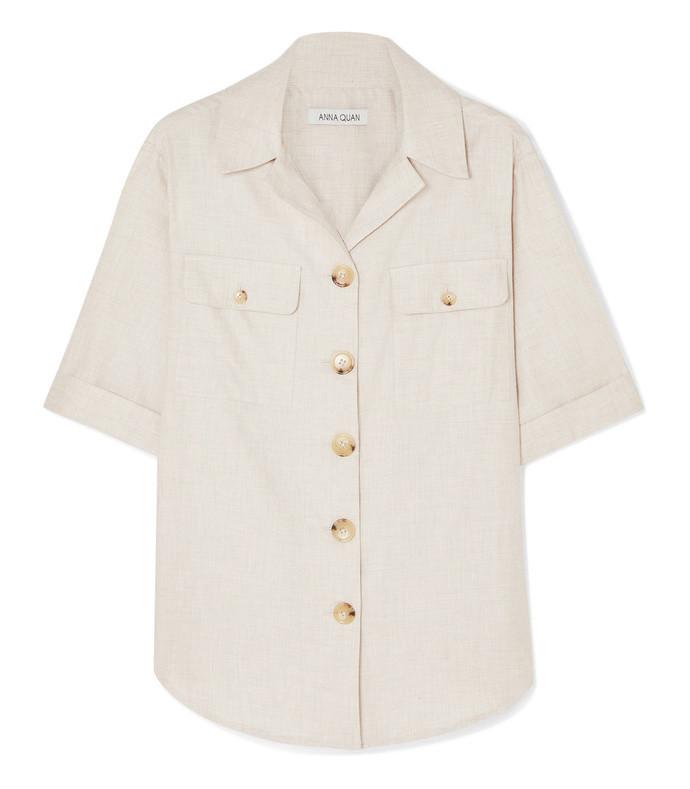 dolly brushed cotton shirt