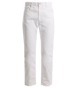 fliff high-rise slim-leg cropped jeans
