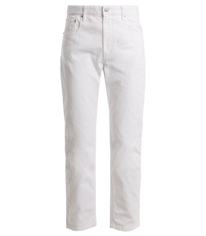 Fliff High-Rise Slim-Leg Cropped Jeans aff-1181460