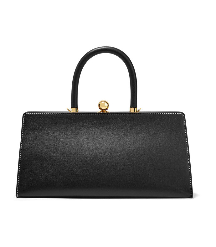 sister leather tote