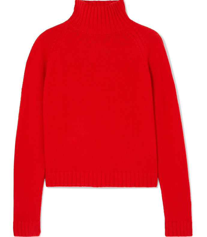 highland cashmere turtleneck sweater