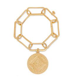 alta capture gold vermeil charm bracelet