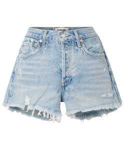 parker distressed denim shorts