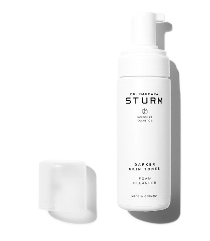 darker skin tones foam cleanser, 150ml
