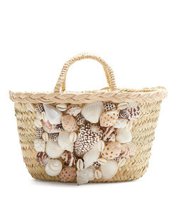 she sells sea shells basket bag