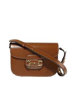 1955 horsebit-detailed leather shoulder bag