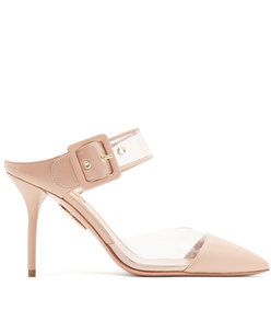 optic 85 buckle-strap mules