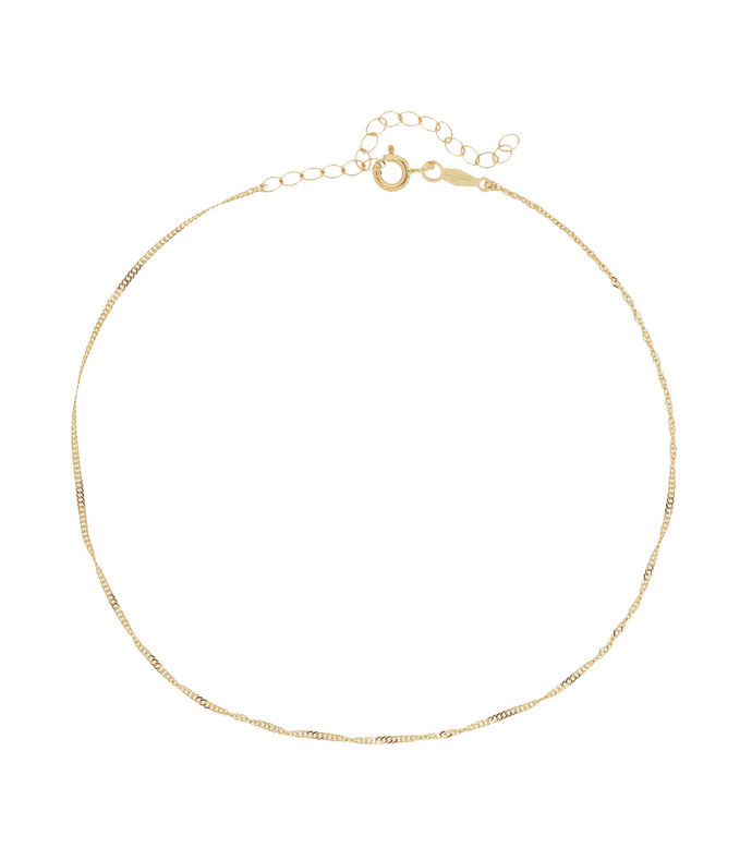 sweet nothing gold anklet