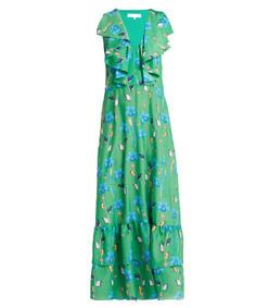 carlotta crepe maxi dress