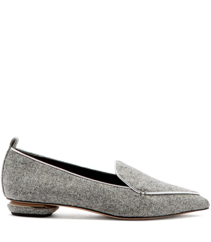 beya felt loafers