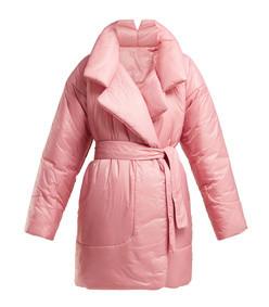 sleeping bag knee-length coat