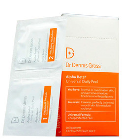 alpha beta daily face peel boxed packettes
