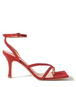 delta high suede sandals