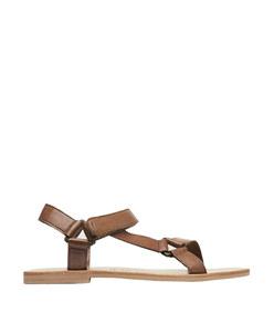 sportsu leather sandals