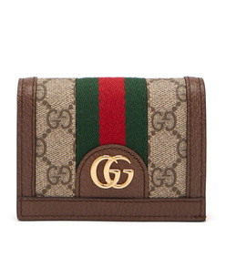 ophidia gg supreme leather wallet