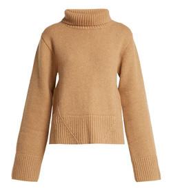 wallis cashmere roll-neck sweater