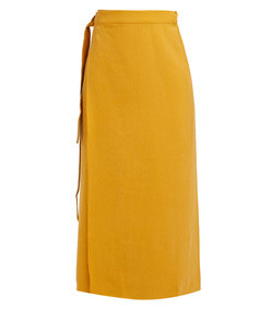 tie-waist sarong skirt
