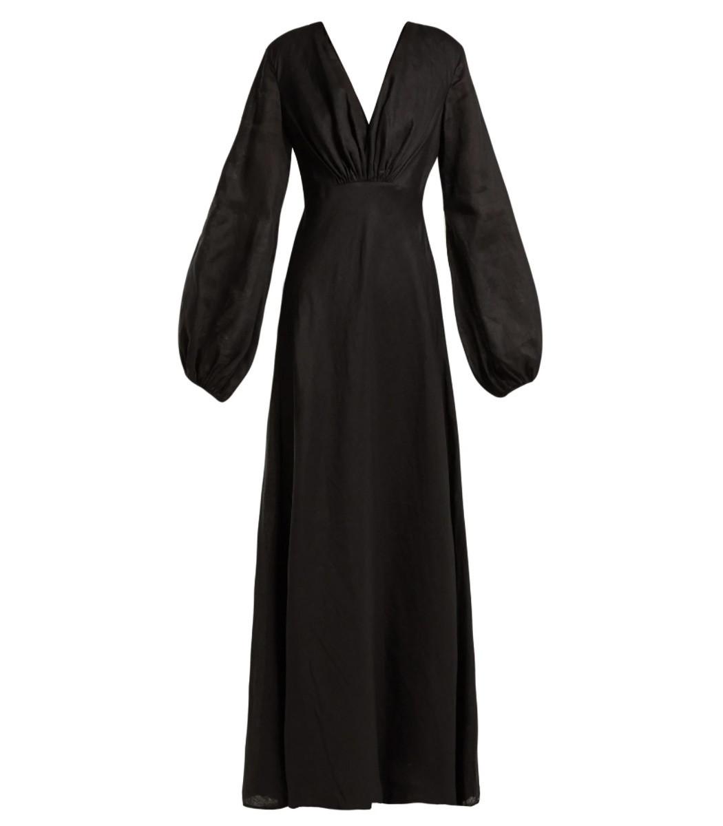 Kalita Utopian Linen Maxi Dress
