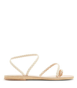 eleftheria braided-leather sandals
