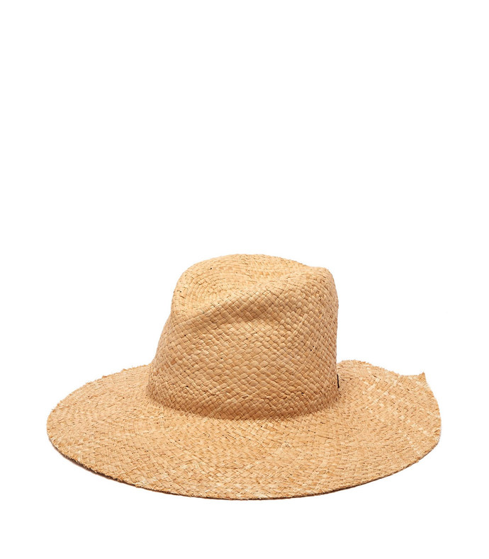 commando adjustable strap raffia hat