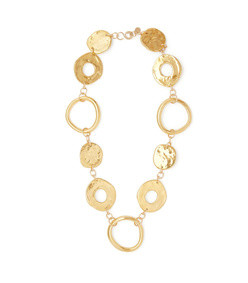 arpchain gold-plated pendant necklace