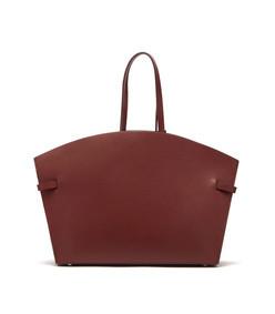 dawn leather tote bag