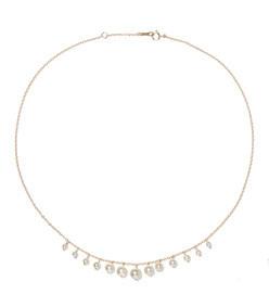14-karat gold pearl necklace