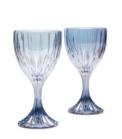 prestige set of two wine glasses
