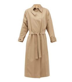 savannah twill trench coat